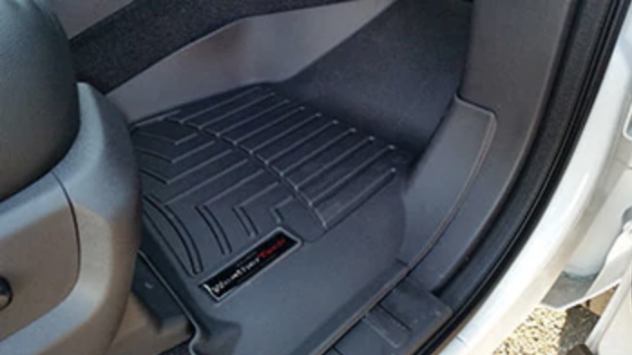 floor weather for cab full set f black ford all itm floors mats weathertech crew